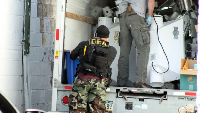 The U.S. Drug Enforcement Administration was involved in a June 12, 2018, raid in Corvallis, Ore.