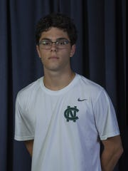 Gerard Lopez, Colts Neck High School - All Shore Boys Tennis Team in Neptune, NJ on May 24, 2017.
