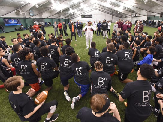 """The """"Gamechangers"""" Middle School football Camp at the"""