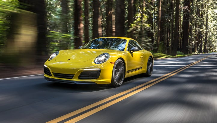 The Porsche 911 was the highest-rated model in the