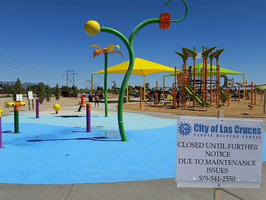 Metro Verde splash pad photo
