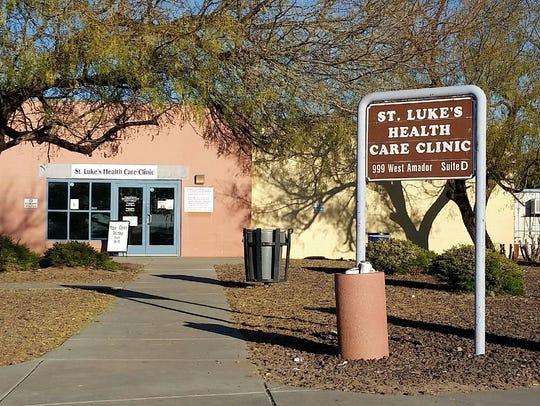 St. Luke's Health Care Clinic is seen Friday, Jan.
