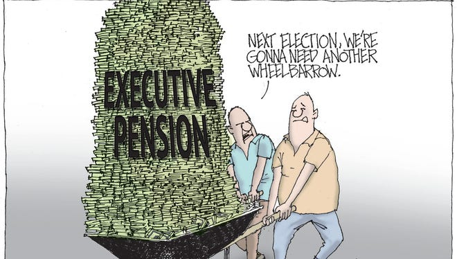Pensions for governor, lieutenant governor are no longer affordable and should be ended.