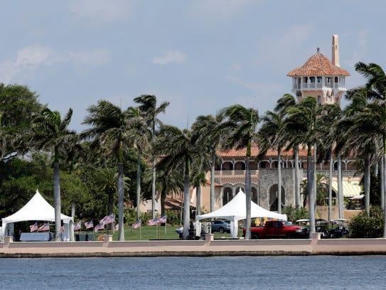 President Trump's Mar-a-Lago resort in Palm Beach,