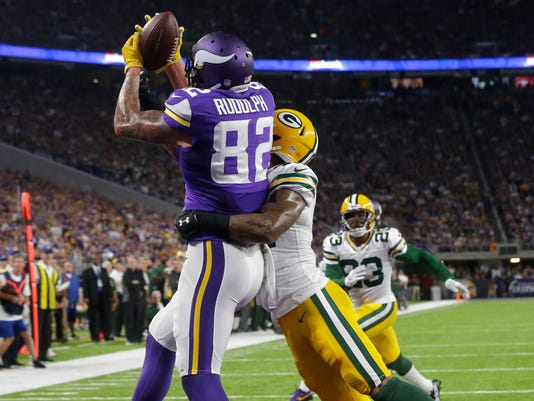 Kyle Rudolph, Morgan Burnett
