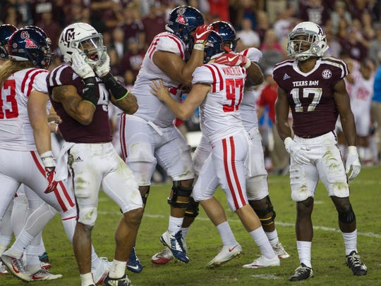 Ole Miss kicker Gary Wunderlich (97) has made 19 of