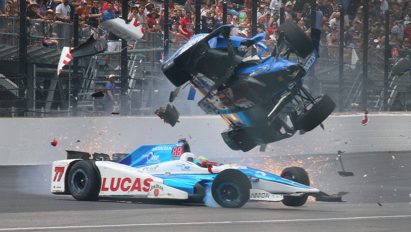 Worst Indy Car Crash Video