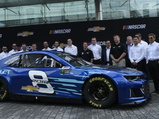 Camaro New Chevy Racer In Monster Energy Nascar Cup