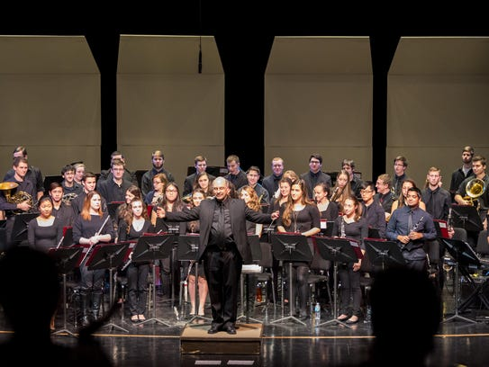 The Binghamton University Wind Symphony will perform