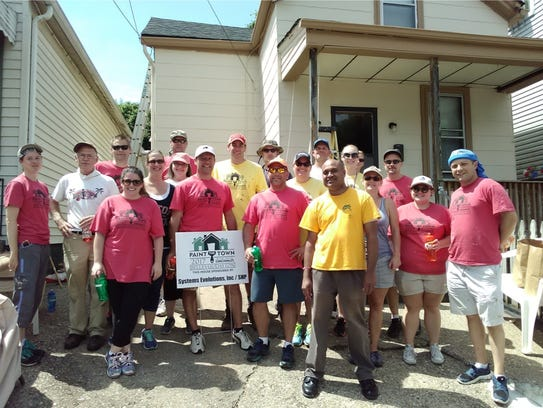 Systems Evolution Inc. workers participated in Paint