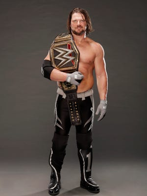 "WWE World Champion AJ Styles and the ""Smackdown Live"" roster will be at the Prudential Center in Newark on Nov. 1."
