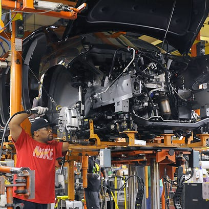 GM to lay off 1,100 at Michigan plant, move Acadia