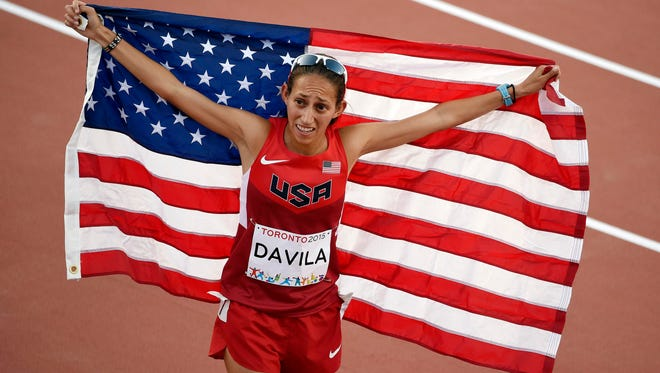 Former ASU All-America Desiree (Davila) Linden was silver medalist in the 10,000-meter at the Pan American Games.