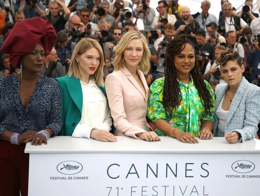 AP FRANCE CANNES 2018 JURY PHOTO CALL I ENT FRA