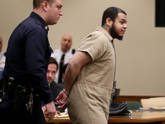 David Alcaraz-Ubiles was was sentenced to 15 years.