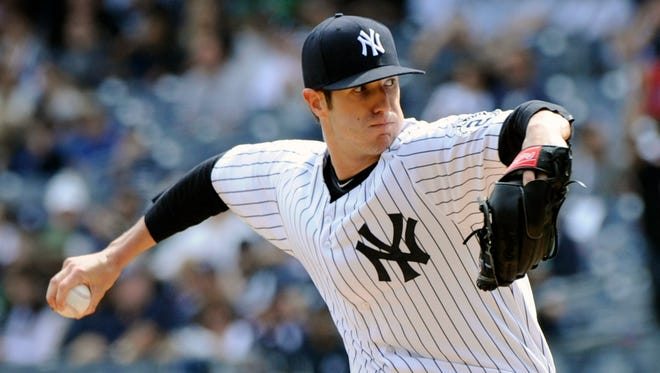 New York Yankees pitcher Shane Greene.