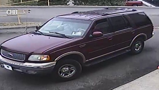 Metro Police are asking for the public's help identifying the suspects in this SUV Jan. 14, 2017.