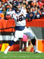 Peyton Manning's stats aren't looking so pretty.