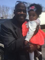 Joseph Johnson and granddaughter Savannah.
