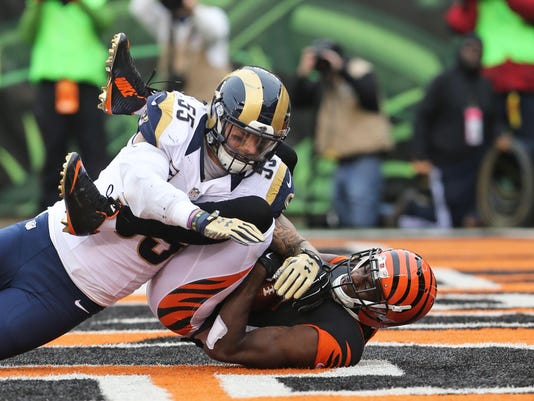 NFL: St. Louis Rams at Cincinnati Bengals