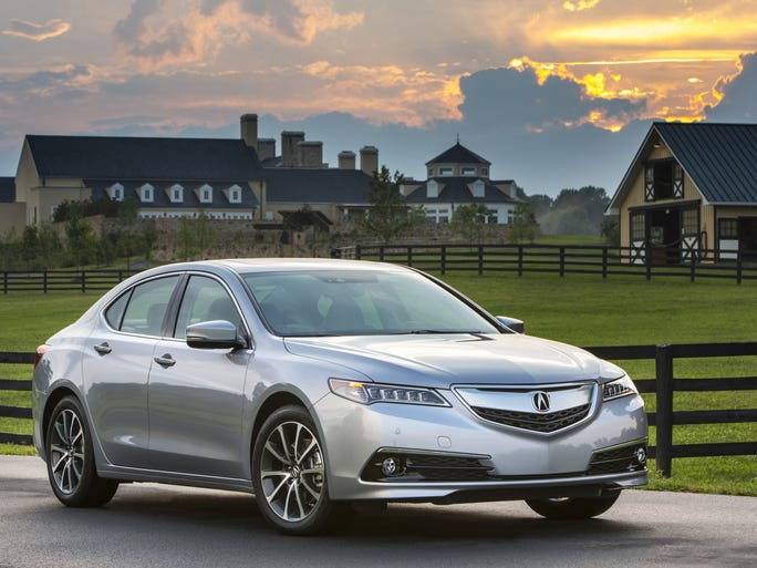 The 2015 TLX replaces the smaller TSX and the larger TL, giving Acura a more sensible small-medium-large array of sedans.