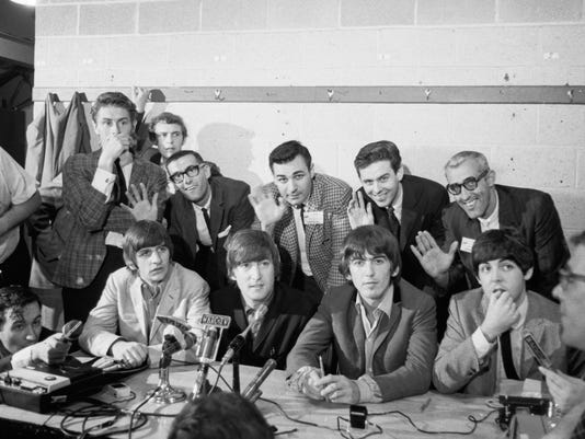 WSAI and Beatles, Press Conference.jpg