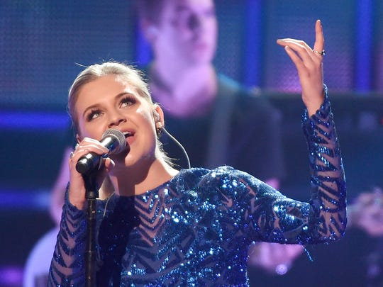 Breakthrough Artist of the Year Kelsea Ballerini performs at the CMT Artist of the Year Awards at Schermerhorn Symphony Center Wednesday, Oct. 19, 2016, in Nashville, Tenn.
