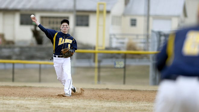 Elco senior Travis Zimmerman will return to the shortstop position for yet another spring starting Saturday with the Raiders' season opener at Hamburg.