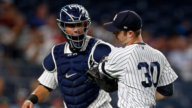 The ERA of the Yankees pitching staff is 3.46 when Gary Sanchez is behind the plate.