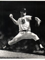 Denny McLain opened the season as Detroit TIgers ace