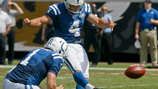 The Colts could lose K Adam Vinatieri (4) and P Pat McAfee to free agency.
