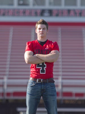 Pinckney senior defensive end Wes Smith has earned the honor of Defensive Football Player of the Year.
