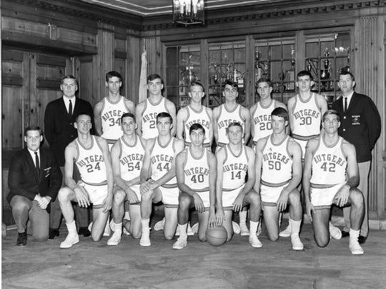 Rutgers' 1966-67 team photo