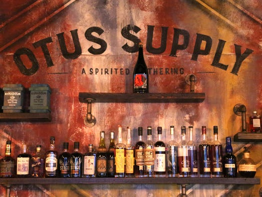 Otus Supply in Ferndale boasts two separate bars led