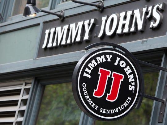 A Jimmy John's sandwich shop located in Downtown Seattle, Washington.