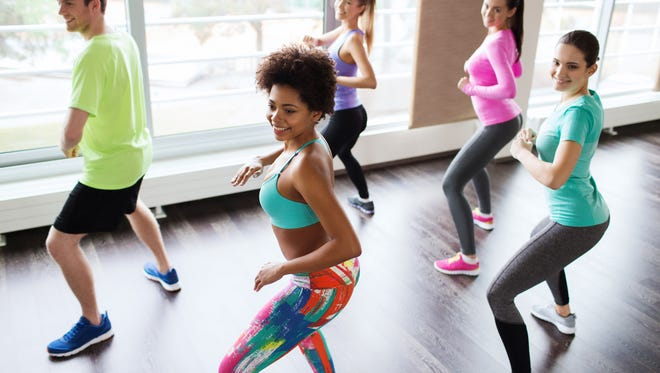 Zumba, the creation of Colombian dancer Alberto Perez, puts the fun in exercise with lively music and dance steps found in hip-hop, salsa, merengue and mambo.