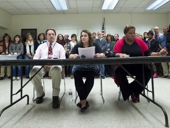 The Burlington School District interim administration