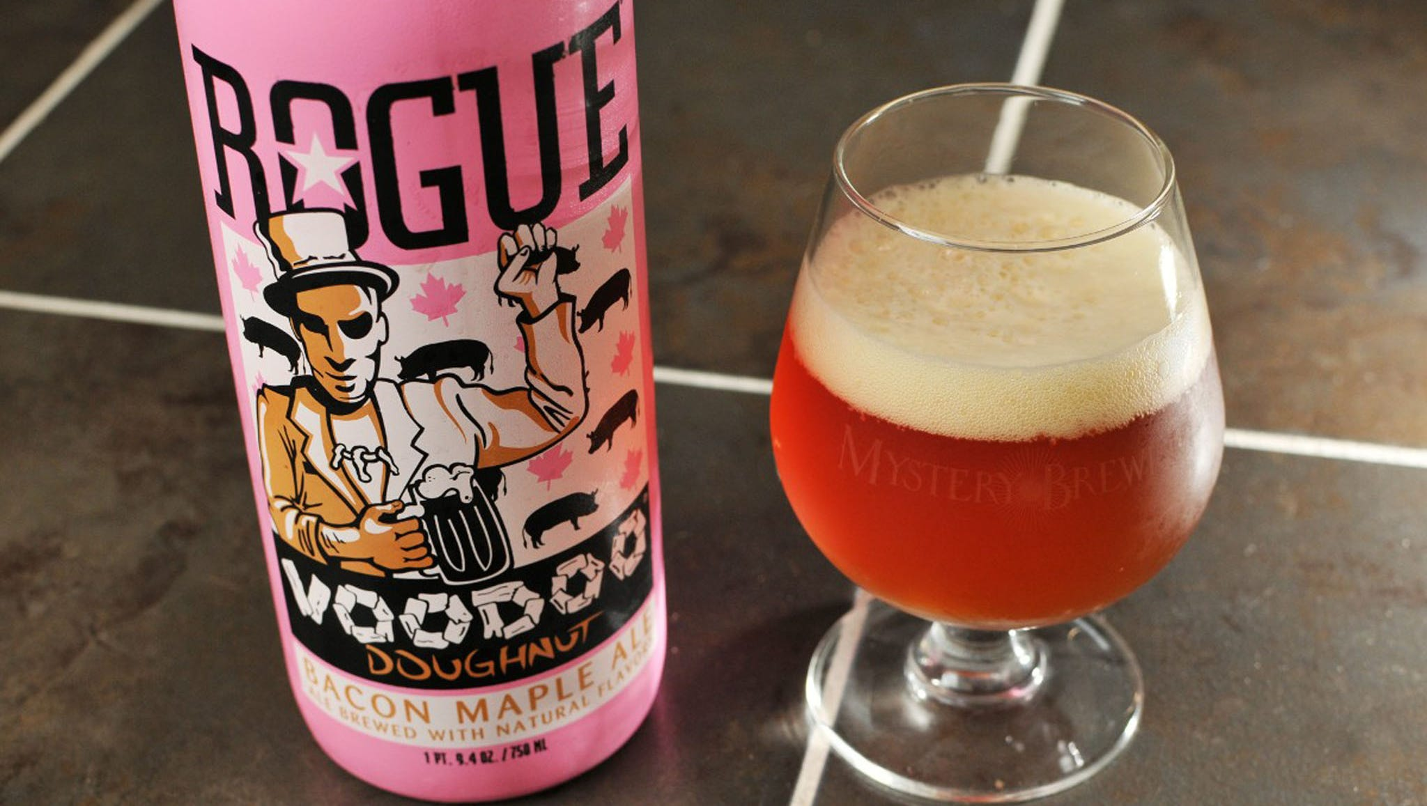 """Rogue Ales, Portland, Ore.: Rogue is one of those """"only in Portland"""" kind of breweries, and it's what makes it just so unique. Founded by two fraternity brothers and their friends, this brand shattered all expectations about what a craft brewing company should be, evident in their name and their creed: a desire and a willingness to change the status quo. This shows even in their bottles, which include tasting notes, ingredients, and food pairings directly on the labels. The company even breaks norms in its beer styles for its brews, like the Chipotle Ale, the Single Malt Ale, and perhaps the most talked about Rogue brew, the VooDoo Chocolate, Peanut Butter, and Banana Ale."""