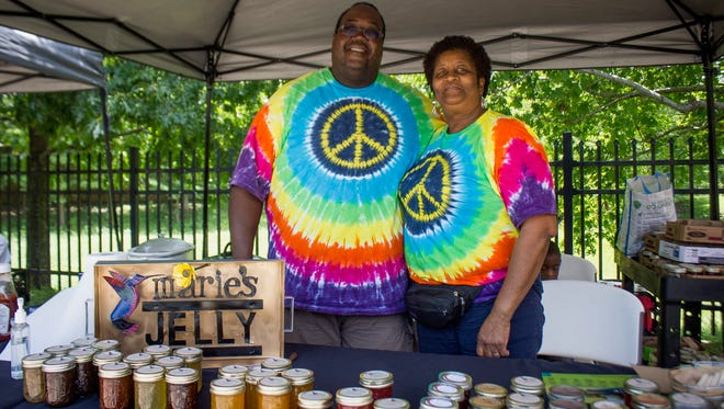 Rose Garrison will be selling her  Marie's Jelly at the Frenchtown Heritage Festival on Nov. 5