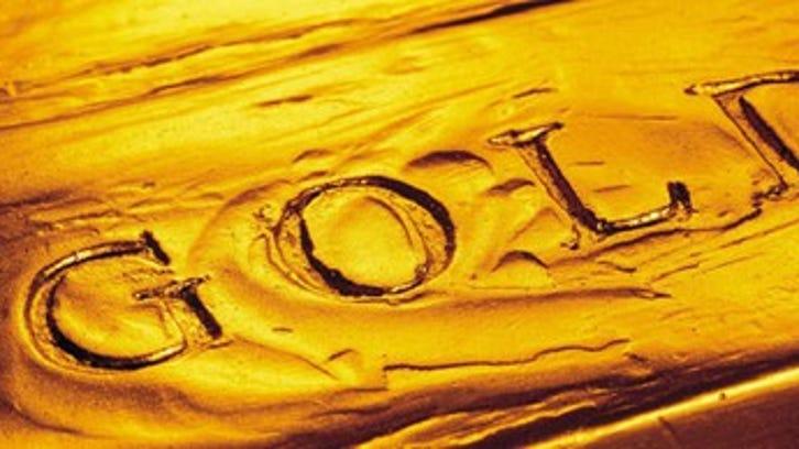 Newmont gold bar.