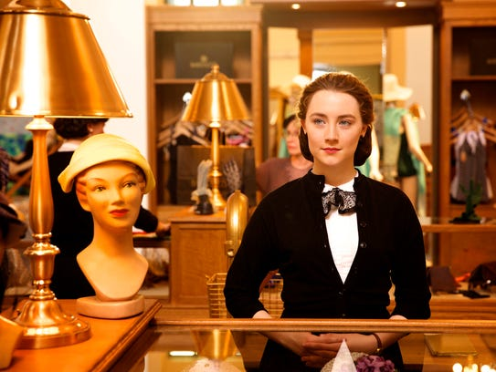 Best Actress nominee Saoirse Ronan appears in a scene
