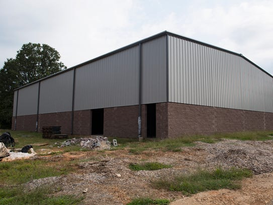 The community center next to First Christian Fellowship