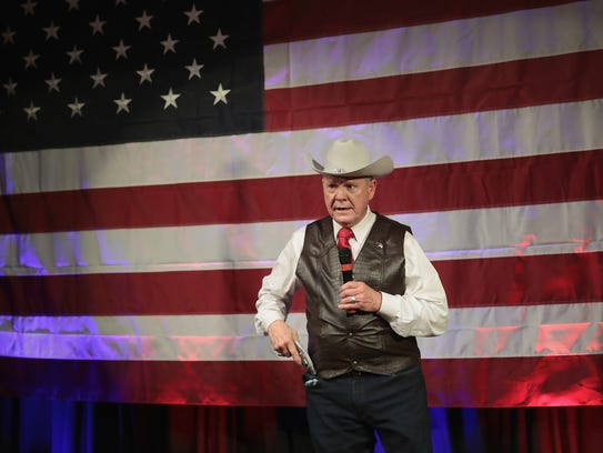 Republican candidate for the U.S. Senate in Alabama,
