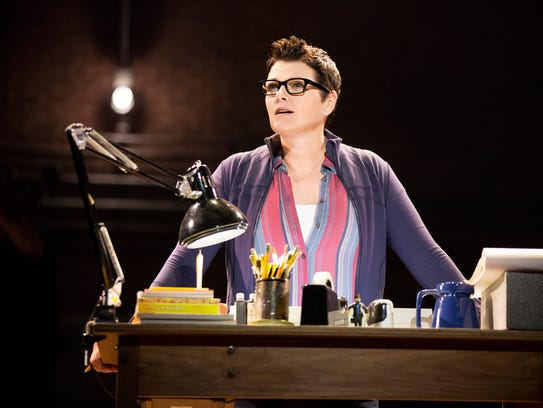 Kate Shindle in Fun Home