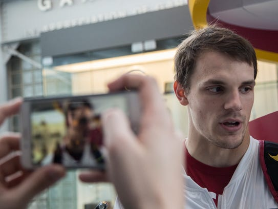 Kyle Kempt, a senior on the Iowa State football team, has taken over ably since Jacob Park began his leave of absence from the team on Oct. 6.