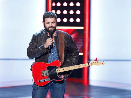 """THE VOICE -- """"Blind Auditions"""" -- Pictured: Pryor Baird"""