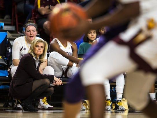 Arizona State head coach Charli Turner Thorne.