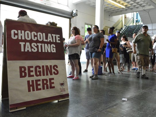 Monmouth Park hosts the  Wine & Chocolate Festival