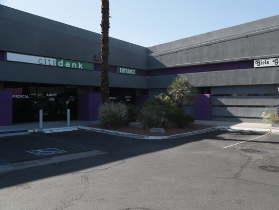 Citibank has told the Cathedral City dispensary, Citidank,
