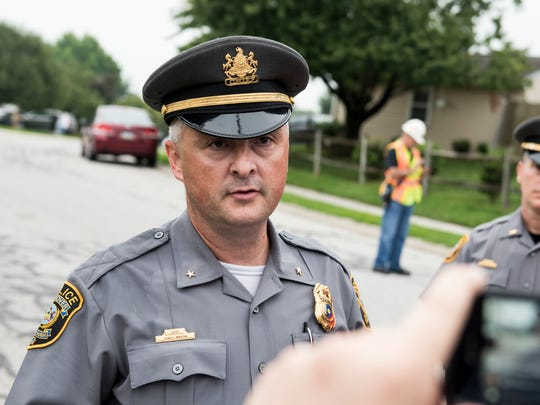 According to Chief Chad Martin, Hanover Borough Police most commonly see burglary, theft and vandalism.